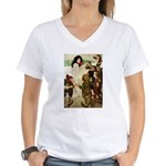Snow White Women's V-Neck T-Shirt