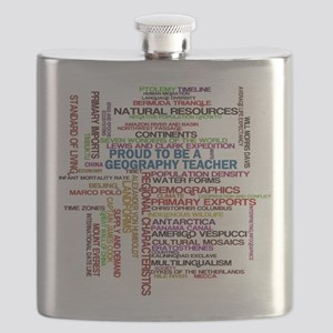 Proud Geography Teacher Flask