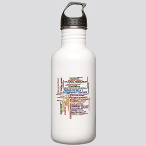 Proud Geography Teacher Stainless Water Bottle 1.0