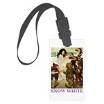 Snow White Large Luggage Tag