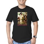 Snow White Men's Fitted T-Shirt (dark)