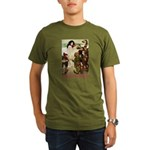 Snow White Organic Men's T-Shirt (dark)