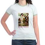 Snow White Jr. Ringer T-Shirt