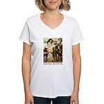 Snow White Women's V-Neck T-Shirt