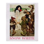Snow White Throw Blanket