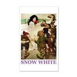 Snow White 35x21 Wall Decal