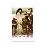 Snow White 20x12 Wall Decal