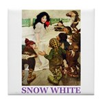 Snow White Tile Coaster