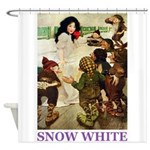 Snow White Shower Curtain