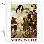 Snow White Shower Curtain