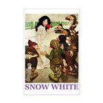 Snow White Mini Poster Print