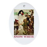 Snow White Ornament (Oval)
