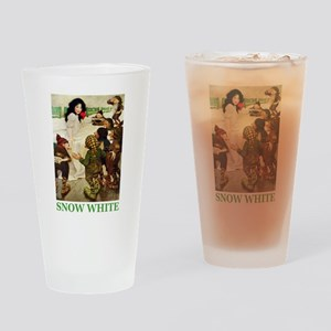 Snow White Drinking Glass