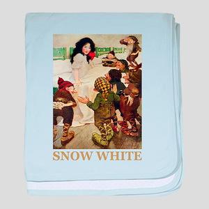 Snow White baby blanket