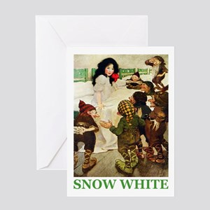 Snow White Greeting Card