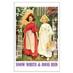 Snow White & Rose Red Large Poster