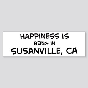 Susanville - Happiness Bumper Sticker