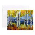 Birch Forest Lake Notecards (Set of 20)