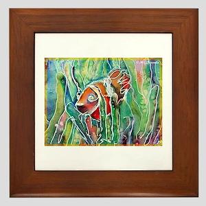 Clown Fish, nature art! Framed Tile