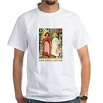 Snow White & Rose Red White T-Shirt