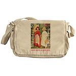 Snow White & Rose Red Messenger Bag