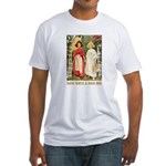 Snow White & Rose Red Fitted T-Shirt