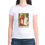 Snow White & Rose Red Jr. Ringer T-Shirt