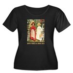 Snow White & Rose Red Women's Plus Size Scoop Neck