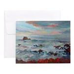 Surf at Sunset Notecards (Set of 20)