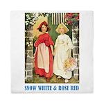 Snow White & Rose Red Queen Duvet
