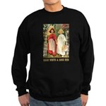Snow White & Rose Red Sweatshirt (dark)