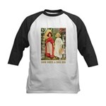 Snow White & Rose Red Kids Baseball Jersey
