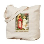 Snow White & Rose Red Tote Bag