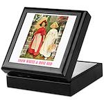 Snow White & Rose Red Keepsake Box