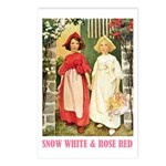 Snow White & Rose Red Postcards (Package of 8)