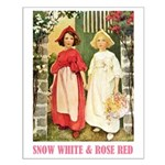 Snow White & Rose Red Small Poster