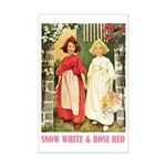 Snow White & Rose Red Mini Poster Print