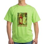 Snow White & Rose Red Green T-Shirt