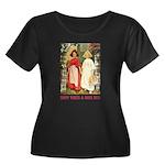 Snow White & Rose Red Women's Plus Size Scoop Neck