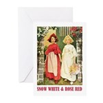 Snow White & Rose Red Greeting Cards (Pk of 20)