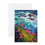 Sea View Greeting Cards