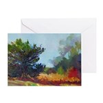 Misty Morning Greeting Cards