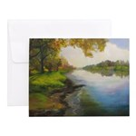 Summer By The River Notecards (set Of 10)