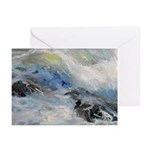 Pacific Storm Greeting Cards