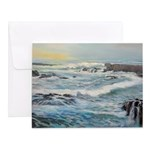 Storm Waves at Glass Beach Notecards (Set of 10)