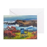 The Artist's Chair Greeting Cards