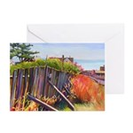 The Old Fence Greeting Cards