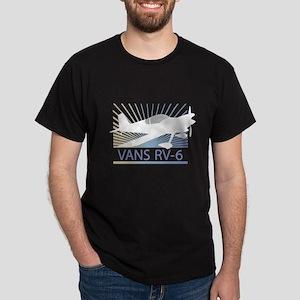 Aircraft Vans RV-6 Dark T-Shirt