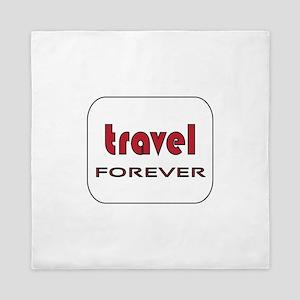 Travel Forever Queen Duvet