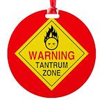 TantrumZonecmyk Round Ornament